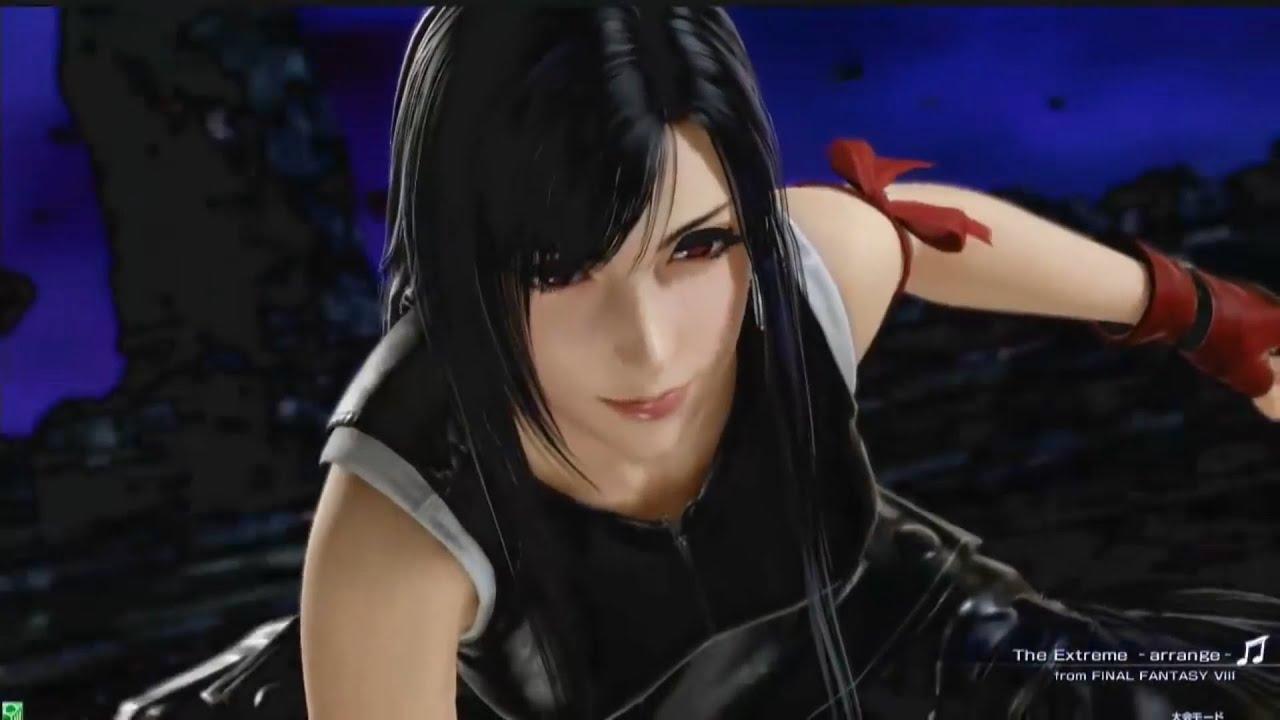 Tifa Lockhart Advent Children Second Costume Leather Suit Gameplay Dissidia Final Fantasy Nt