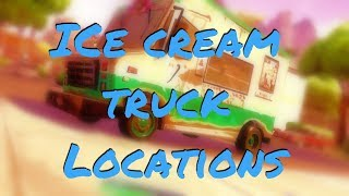 """Visit 5 Ice Cream Truck Locations"" in Fortnite (Week 4 Battle Pass Challenges)"
