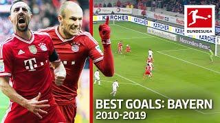 Top 10 FC Bayern München Goals Of The Decade 2010 19 Lewandowski Kroos Ribery Co
