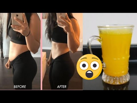 lose-5kgs-in-one-week- -get-flat-stomach- lose-weight-fast- -ginger-and-turmeric-tea-for-weight-loss