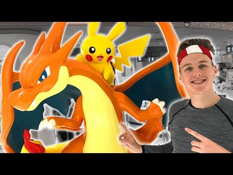 The Most Insane Pokemon Store! (Pokemon Center Japan)