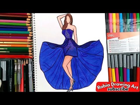 how-to-draw-the-long-evening-dress-short-front-long-back-special-occasion-dresses