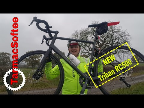 c6bf079cfd7 Happy New Bike Day Triban RC500 First Ride   Cycling Vlog Ep60 - YouTube