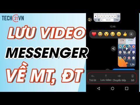 Cách lưu/tải video từ tin nhắn Facebook (Messenger) về máy tính/di động (Cập nhật 2021)
