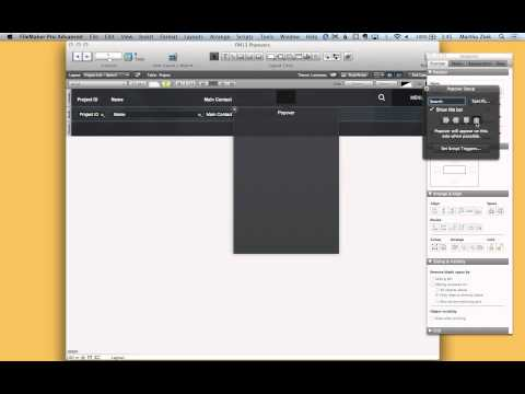 FileMaker Tip: Using Popover Buttons with Icons/Graphics and Adding Search Capability
