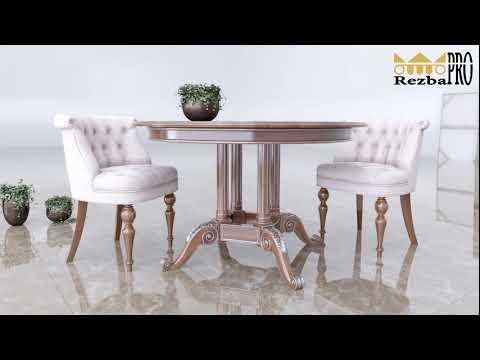 Резная мебель из дерева