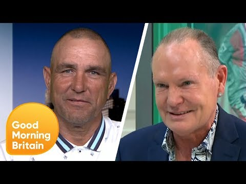 Football Legends Vinnie Jones and Paul Gascoigne Are Going on Tour | Good Morning Britain