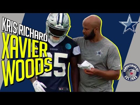 Kris Richard Says Xavier Woods is the Guy | Kris Richard Talks Cowboys Safeties