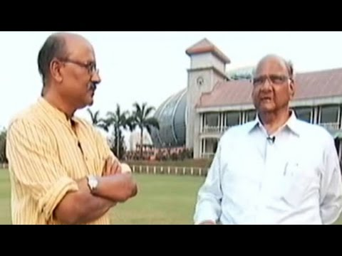 Walk The Talk with NCP chief Sharad Pawar