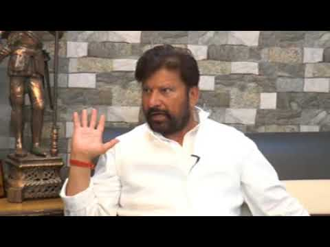 Ex-Minister Choudhary Lal Singh in conversation with Syed Junaid Hashmi