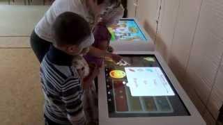 Детский интерактивный стол 42 дюйма ФГОС(Приобрести можно здесь: http://www.you-com.ru/categories/1963., 2015-08-18T20:37:54.000Z)