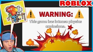 YOUR COMPUTER MAY EXPLODE if YOU PLAY THIS GAME! // ROBLOX