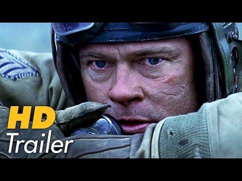 HERZ AUS STAHL - FURY Trailer (German   Deutsch) Brad Pitt