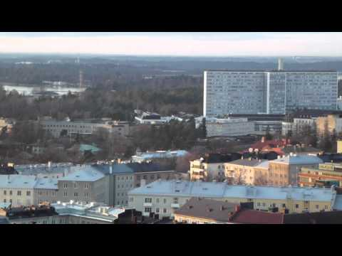 Overview of Helsinki   Stadion tower