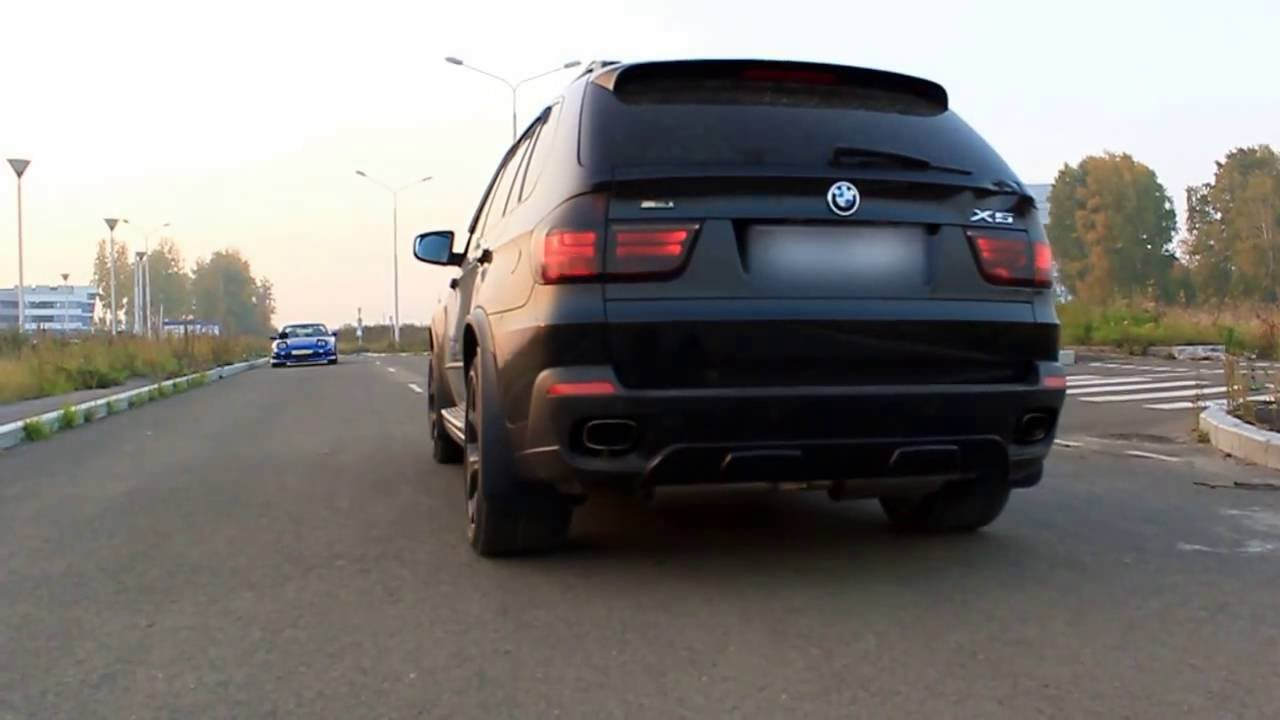 Exhaust sound BMW X5 custom cat-back by SibTune