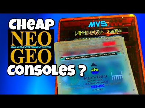 Cheap Neo Geo MVS Consoles for Sale?