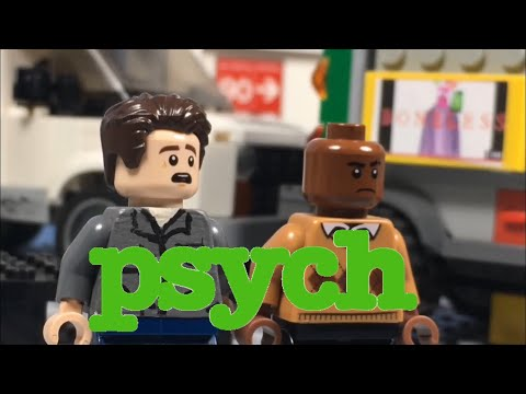 LEGO Psych - IS THAT MAURICIO IN THERE?