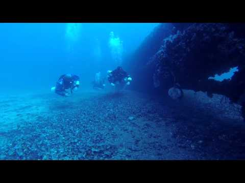 Submarine HMS STUBBORN on Sidemount and backmount with Gozo Technical Diving/Malta