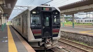 【GV-E400系】磐越西線•信越線直通普通新潟行 新津駅発車
