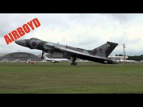 "Avro Vulcan Farnborough 2012 ""The Spirit of Great Britain"""