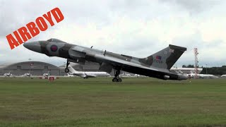 "Avro Vulcan Farnborough 2012 ""The Spirit of Great Britain"""
