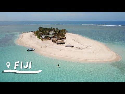 What it's like to stay on a TINY island in Fiji   Namotu