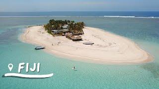 What it's like to stay on a TINY island in Fiji | Namotu