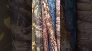 Видео Камуфляжная ткань оптом от 150 сом