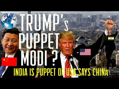 INDIA is a PUPPET of USA  to Counter CHINA border Dispute says China