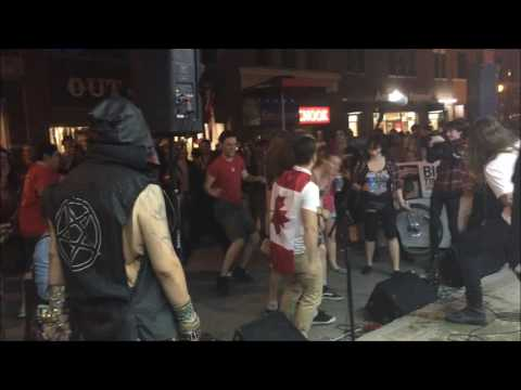 Flash Out Live at Music Trader Canada Day 2016