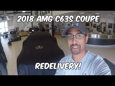 Redelivery Of My 2018 AMG C63s Coupe! She's BACK!!