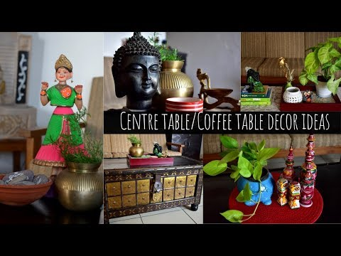 Centre Table Decor Ideas | Indian Living Room Decor Ideas | Scarlet Strokes