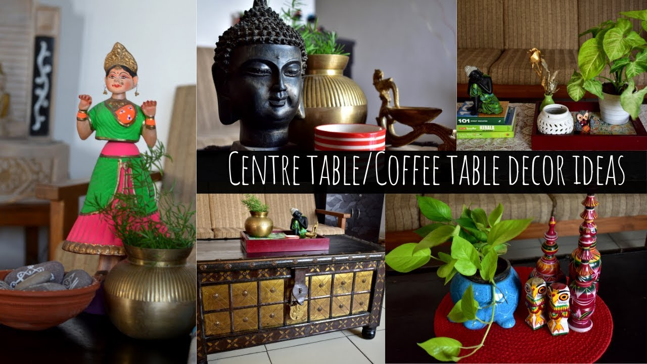 centre table decor ideas indian living room decor ideas scarlet strokes