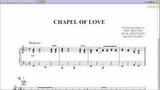 Chapel of Love - Piano Sheet Music
