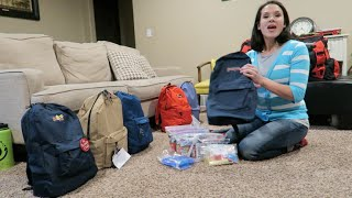 🎒👜 72 KITS (BUG OUT BAGS) FOR BIG FAMILIES