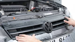 VW polo 6r grill and vw sign removal
