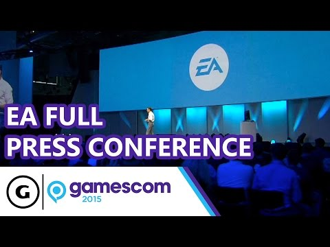 EA Full Press Conference - Gamescom 2015