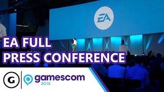 EA Full Press Conference - Gamescom 2015