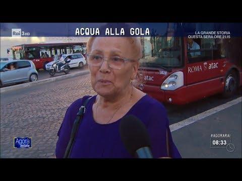 ATAC tra debiti e assenteismo - Agorà Estate 28/07/2017