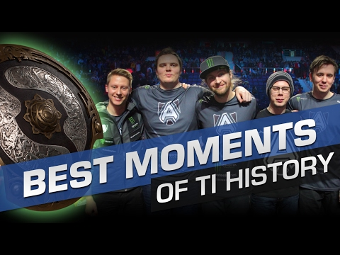 Top 10 Best Moments of The International History - Dota 2