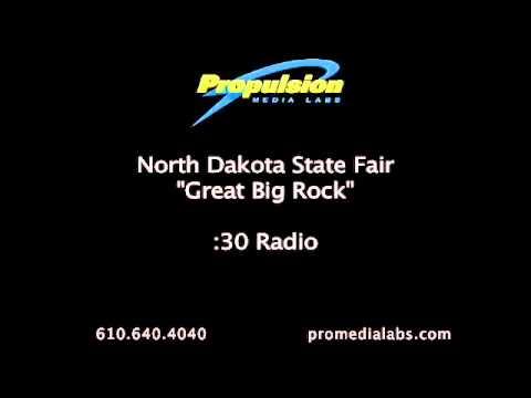 "North Dakota State Fair ""Great Big Rock""  :30 radio"