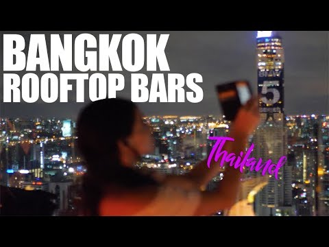 ROOFTOP BAR CRAWL BANGKOK THAILAND