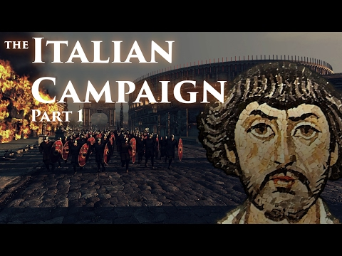 The Italian Campaign of Justinian (Part 1)