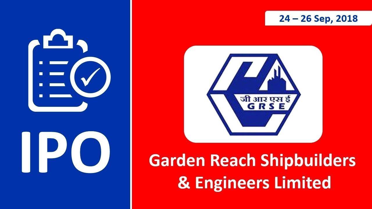 Garden reach shipbuilders ipo allotment status