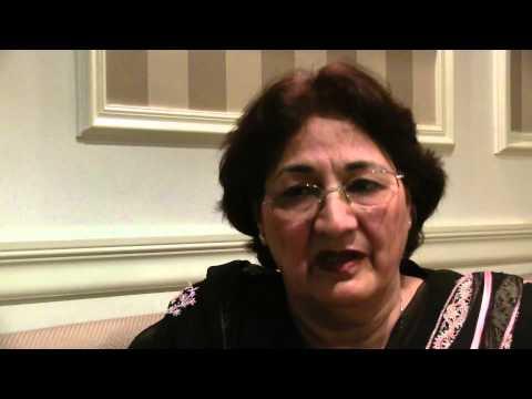 Hon. Khalida Rachid Khan - Message for Young Women
