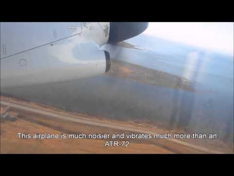 Air Canada Jazz Dash 8-300 takeoff @ Vancouver YVR