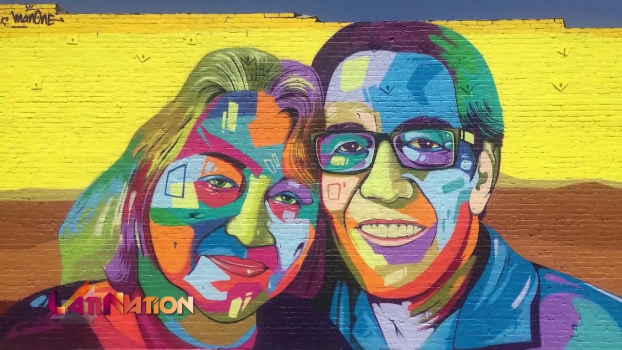 Man one godfather of latino street art latination