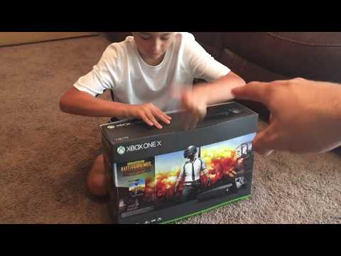 Unboxing A PUBG Xbox 1 X