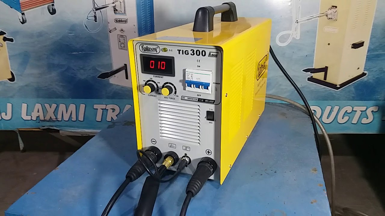 RAJLAXMI TIG-300A MOSFET WELDING MACHINE WORKING PRINCIPLE IN HINDI