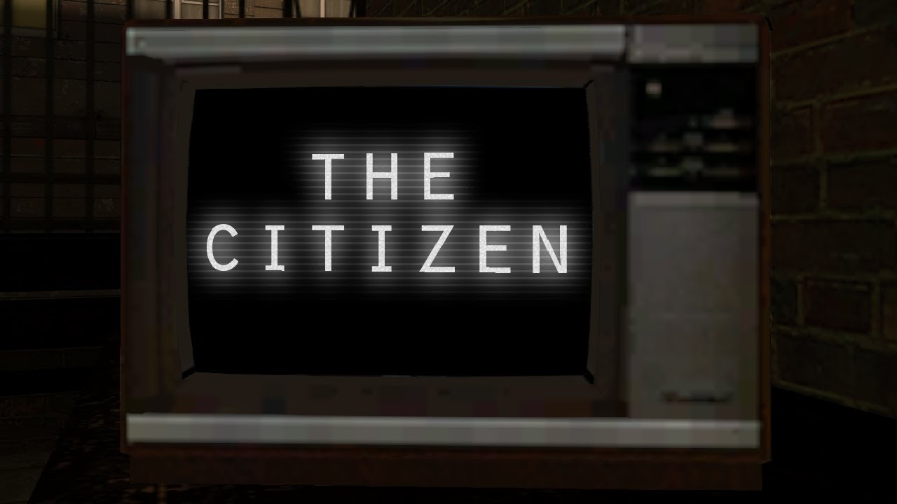 So I installed a mod for Half-Life 2    - The Citizen